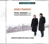 Album artwork for Prokofiev: complete works for violin & piano