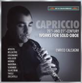 Album artwork for Solo Oboe Works of 20th and 21st Century / Calcag