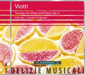 Album artwork for Viotti: Violin Sonatas Op. 4 / Ayo