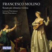 Album artwork for Molino: Sonate per chitarra e violino, Opp. 2 & 7