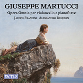 Album artwork for Martucci: Complete Works for Cello & Piano