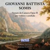 Album artwork for GIOVANNI BATTISTA SOMIS: SONATAS