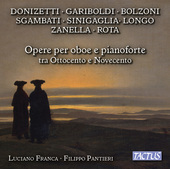 Album artwork for Opere per oboe e pianoforte tra ottocento e novece