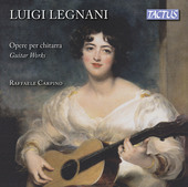 Album artwork for Legnani: Guitar Works