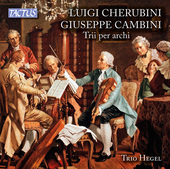 Album artwork for Cherubini & Cambini: String Trios