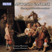 Album artwork for Vandini: Cello Sonatas Nos. 1-6