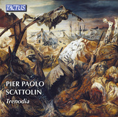 Album artwork for Scattolin: Trenodia