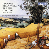 Album artwork for The Pastimes of the Villa in Each Season, Venice 1