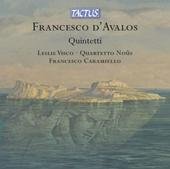 Album artwork for D'Avalos: Quintetti