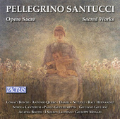 Album artwork for Santucci: Sacred Works