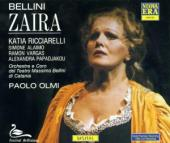 Album artwork for Bellini: Zaira / Ricciarelli, Alaimo, Vargas