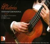 Album artwork for Stefano Grondona: Sin Palabras - Romantic Transcri