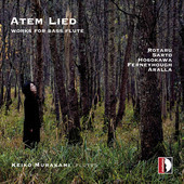 Album artwork for Atem Lied: Works for Bass Flute