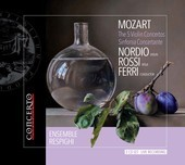 Album artwork for Mozart: The 5 Violin Concertos & Sinfonia concerta