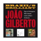 Album artwork for Joao Gilberto Brazil's Brilliant (3CD)