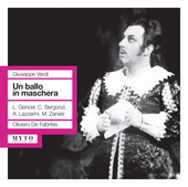 Album artwork for Verdi: Un ballo in maschera (Live)