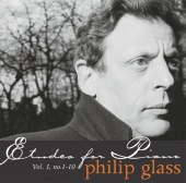 Album artwork for Glass: Etudes for Piano Vol. 1, Nos 1-10