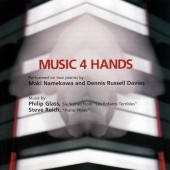 Album artwork for Music 4 Hands - Glass, Reich / Namekawa, Davies