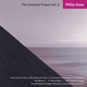 Album artwork for Glass: The Concerto Project Vol. 2 (Piano, Harpsic