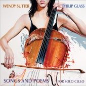 Album artwork for Glass: Songs and Poems for Solo Cello