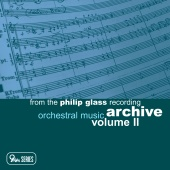 Album artwork for GLASS: ORCHESTRAL MUSIC, VOLUME 2