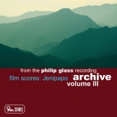 Album artwork for Glass Recording Archive, Vol.3: Film Scores
