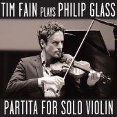 Album artwork for GLASS. Partita for Solo Violin. Fain