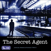 Album artwork for Glass: The Secret Agent