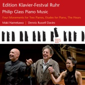 Album artwork for Glass: Piano music from the Ruhr Festival