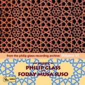 Album artwork for The Music of Philip Glass & Foday Musa Suso