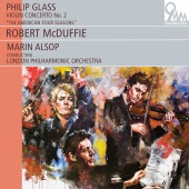 Album artwork for Philip Glass: Violin Concerto No. 2 / McDuffie