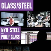 Album artwork for NYU Steel plays Philip Glass