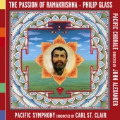 Album artwork for Glass, P: The Passion of Ramakrishna