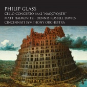 Album artwork for Glass: Cello Concerto No.2. Haimovitz, Cincinnati