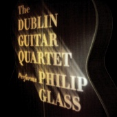 Album artwork for GLASS. Plays Philip Glass. Dublin Guitar Quartet