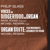 Album artwork for Glass: Voices for Organ and Didgeridoo, Organ Suit