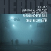 Album artwork for GLASS. Symphony No.4. Sinfonieorchester Basel/Davi