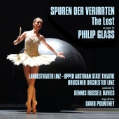 Album artwork for GLASS. The Lost. Bruckner Orchester Linz/Davies