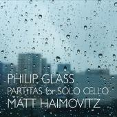 Album artwork for Glass: Partitas for Solo Cello / Haimovitz