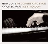 Album artwork for Glass: The Complete Piano Etudes / Batagov