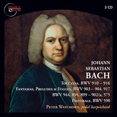 Album artwork for Bach: Harpsichord Works