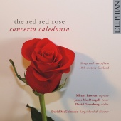 Album artwork for Red Red Rose - Songs & Tunes from 18th C. Scotland