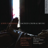 Album artwork for Taverner: Sacred Choral Music