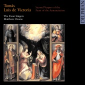 Album artwork for Victoria: Second Vespers for the Annunciation