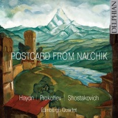 Album artwork for Postcard from Nalchik - Quartets by Haydn, Prokofi