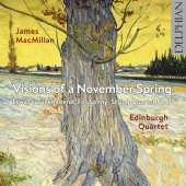 Album artwork for MACMILLAN. Visions of a November Spring. Edinburgh
