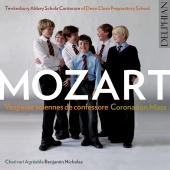Album artwork for Mozart: Coronation Mass in C and Vesperae solennes
