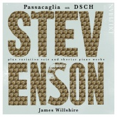 Album artwork for Stevenson: Music for Solo Piano. Willshire