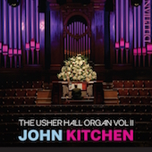 Album artwork for The Usher Hall Organ Vol.2. Kitchen