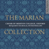 Album artwork for The Marian Collection. Choir of Merton College/Nic